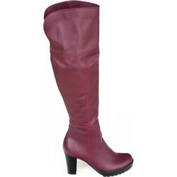 aa8c98c541bb Kozaki damskie zapato.com.pl na słupku