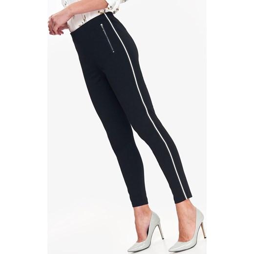 piękny Leginsy Top Secret Odzież Damska RG czarny Leginsy NXDQ