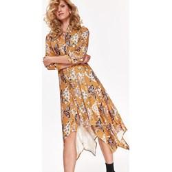 ecef9b1d30d2e4 Sukienka Top Secret na uczelnię z długim rękawem wielokolorowa