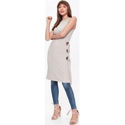 382e457dd1bf67 Tuniki dzianinowe damskie, modne kolekcje 2019 w Domodi