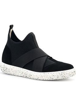 Sportowe czarne buty socks z gumkami 76G  Neścior promocja NESCIOR  - kod rabatowy