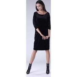 2e3e30c6 Sukienka Moe biała elegancka oversize'owa luźna mini dresowa