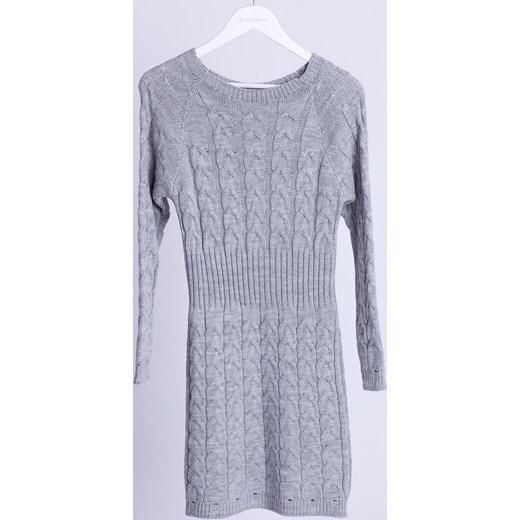 01ac8b16ea Sukienka Selfieroom bez wzorów midi z długim rękawem casual w Domodi