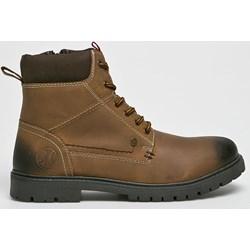 559b59d575a42 Brązowe buty zimowe męskie hugo-hugo boss, wiosna 2019 w Domodi