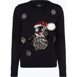 5527832b110076 Sweter damski Only w świąteczne wzory w stylu glamour