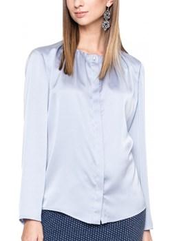 Satynowa bluzka z ozdobnym dekoltem Potis & Verso SA RIVA  Potis & Verso Eye For Fashion - kod rabatowy