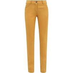 a6a6ab802f965 Żółte spodnie damskie, lato 2019 w Domodi