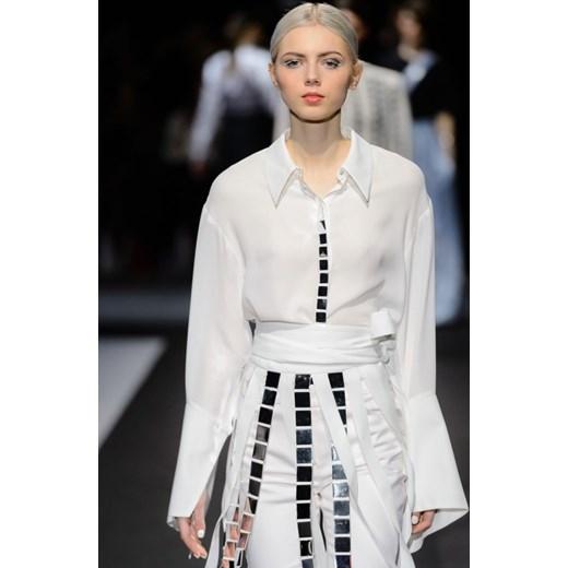 4bd23d216a ... Koszula damska Aneta Kręglicka X L af z tkaniny z długim rękawem ...