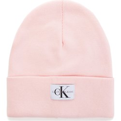 724f5dcb938293 Czapka zimowa damska różowa Calvin Klein młodzieżowa ...