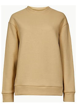 Cotton Rich Long Sleeve Sweatshirt   Marks & Spencer Marks&Spencer - kod rabatowy