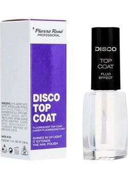 DISCO TOP COAT Fluorescencyjny lakier nawierzchniowy  Pierre René  - kod rabatowy