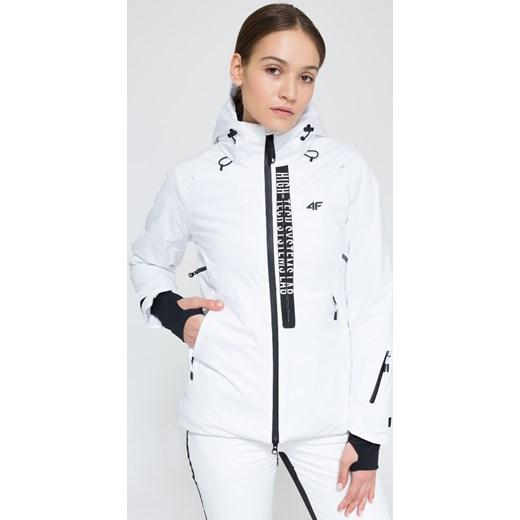 Kurtka narciarska damska KUDN161 biały 4F