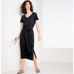 c4fae71a5f Sukienka Tchibo z krótkim rękawem z dekoltem v