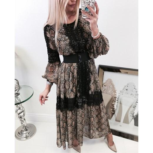 accb6d20f480 Sukienka By O La La maxi w Domodi