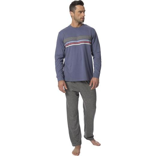 ef7aa3532bb7b8 Wielokolorowa piżama męska Rossli w Domodi