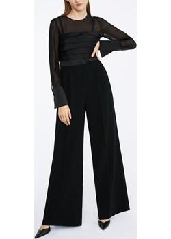 Silk and cady jumpsuit czarny Maxmara  - kod rabatowy
