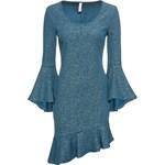 2fd3607496 charmma damska sukienka bardzo duży rozmiar Mock Neck Top ...