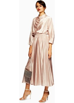 Satin Ovoid Midi Dress  Topshop  - kod rabatowy