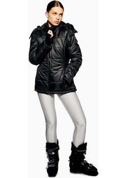 **Black Hooded Jacket by Topshop SNO  Topshop  - kod rabatowy