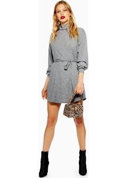 Cut And Sew Belted Mini Dress  Topshop  - kod rabatowy