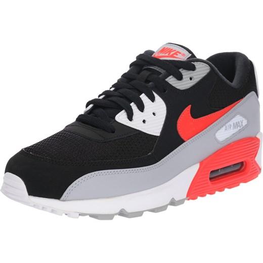 43012e4b Buty sportowe męskie Nike Sportswear air max 91 czarne wiązane ze skóry na  jesień ...