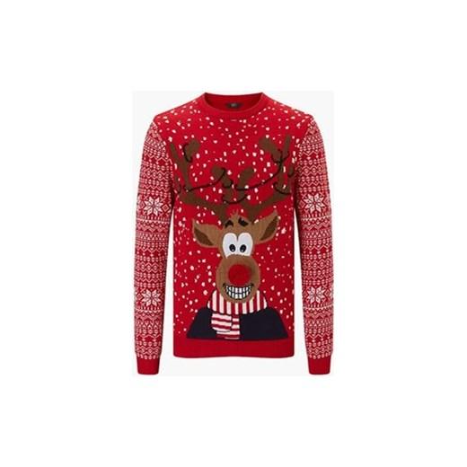 0f7eb5ff46a725 Wzór: świąteczny. Sweter F&F