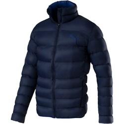 bf54fe8888f0e Kurtka męska Puma niebieska bez wzorów casualowa na zimę