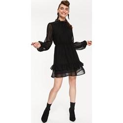 c724dea9ec Sukienka Top Secret z długimi rękawami z szyfonu