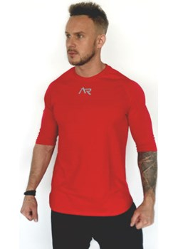 Koszulka COTTON RED MAN 2/4 sleeve   Athletic Rebel - kod rabatowy