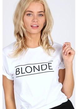 T-shirt Blonde   magiazakupow.com - kod rabatowy