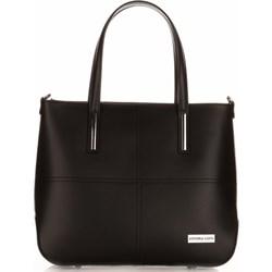 8bc2dbab78d28 Shopper bag Vittoria Gotti elegancka skórzana