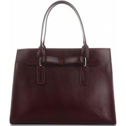 64904d0c89bff Shopper bag Vittoria Gotti brązowa skórzana