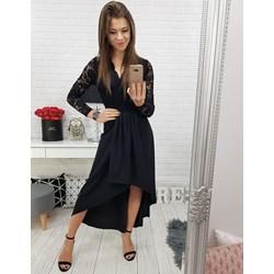 5ab1073a6225 Sukienka Dstreet maxi z długim rękawem