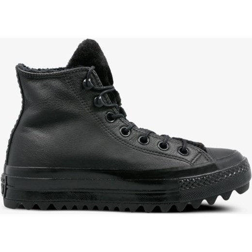 Czarne buty zimowe męskie Converse na zimę