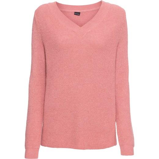 518634c744858a Sweter damski różowy BODYFLIRT w Domodi
