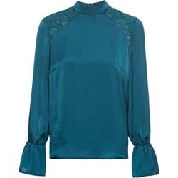 2e5a81a21dc7 Niebieskie bluzki wizytowe damskie bodyflirt długi rękaw