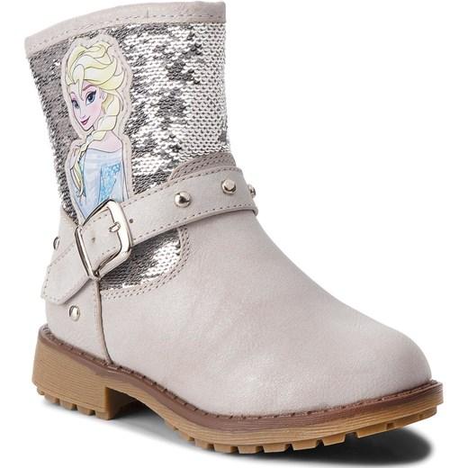 07888f4771d10 Buty zimowe dziecięce Disney Frozen z zamkiem w Domodi