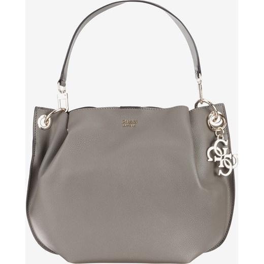 893e2e3bfe1b3 Shopper bag brązowa Guess średniej wielkości w Domodi