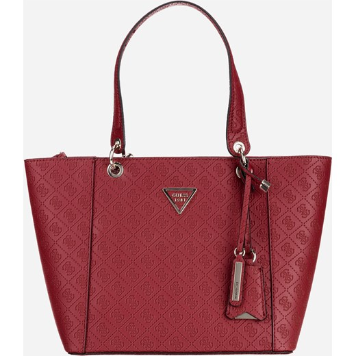 1e68bb797edee Shopper bag czerwona Guess matowa  Shopper bag czerwona Guess matowa