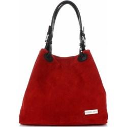 5c742e7eee97 Shopper bag Vittoria Gotti matowa ze skóry. 1