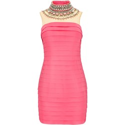 de96bad1f740ba Sukienka La Poudre™ mini na sylwestra z aplikacjami bez rękawów z golfem