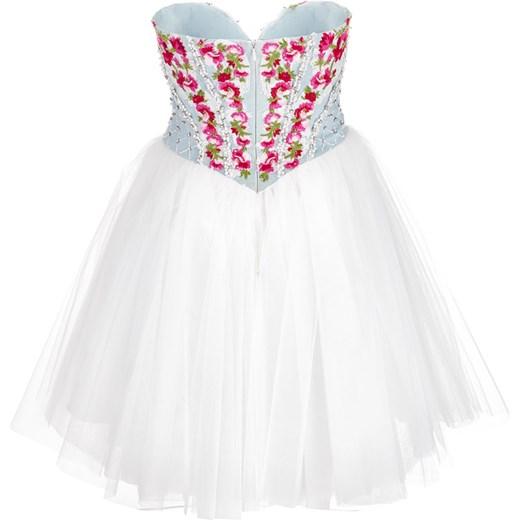 ff3c287e98 Sukienka La Poudre™ z tiulu mini wielokolorowa glamour gorsetowa w ...