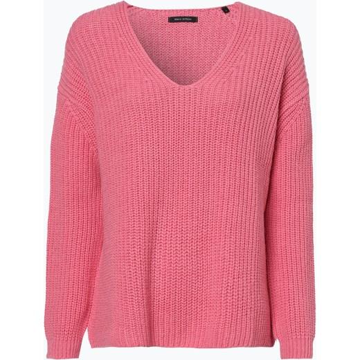 2755b9f5f719e0 Sweter damski różowy Marc O'Polo z dzianiny w Domodi