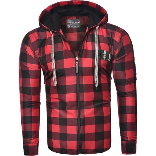 najlepszy Modna bluza rozpinana rl60 czerwona Risardi