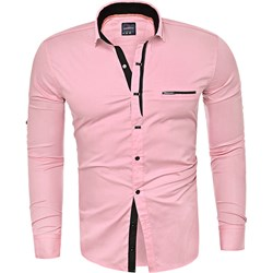 d59c1a96398e Różowe koszule męskie