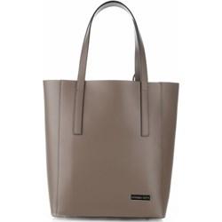 23aaf3c947a176 Shopper bag Vittoria Gotti matowa bez dodatków do ręki elegancka duża