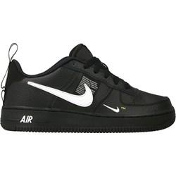 check out ac76e 04cd3 Buty sportowe damskie Nike do biegania air force czarne wiązane na koturnie
