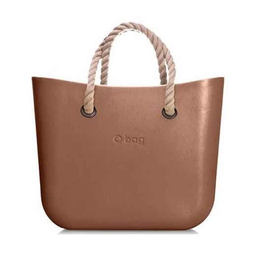bea9a4f95ddc4 Shopper bag O Bag bez dodatków matowa w Domodi
