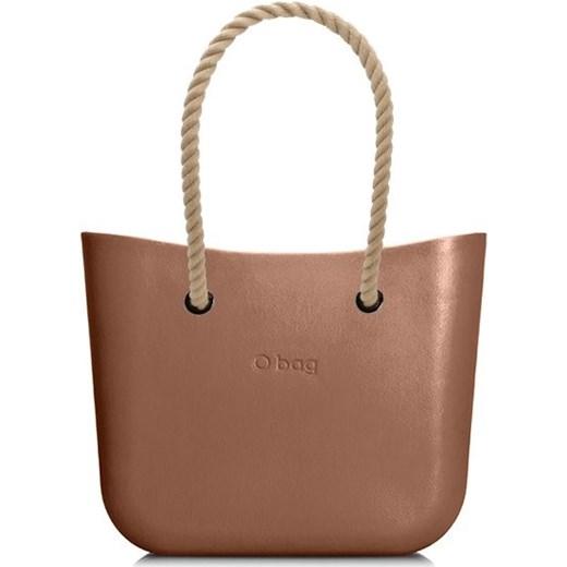 b5264c8645eaa O Bag shopper bag młodzieżowa bez dodatków duża brązowa do ręki w Domodi