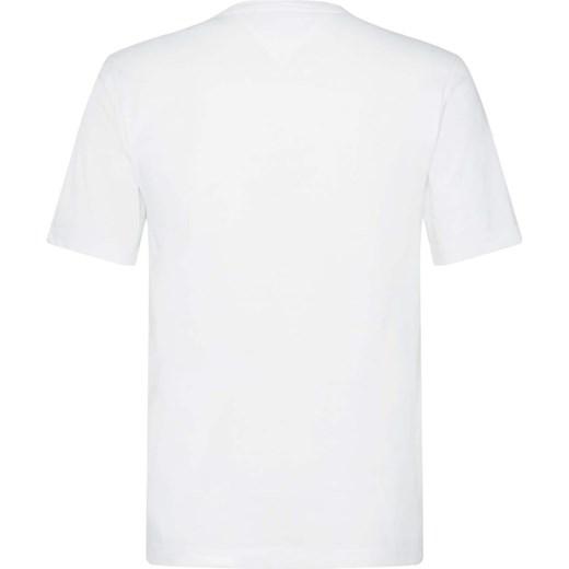 02a2c2df381f6 ... jerseyu letni; T-shirt męski Tommy Hilfiger z jerseyu biały